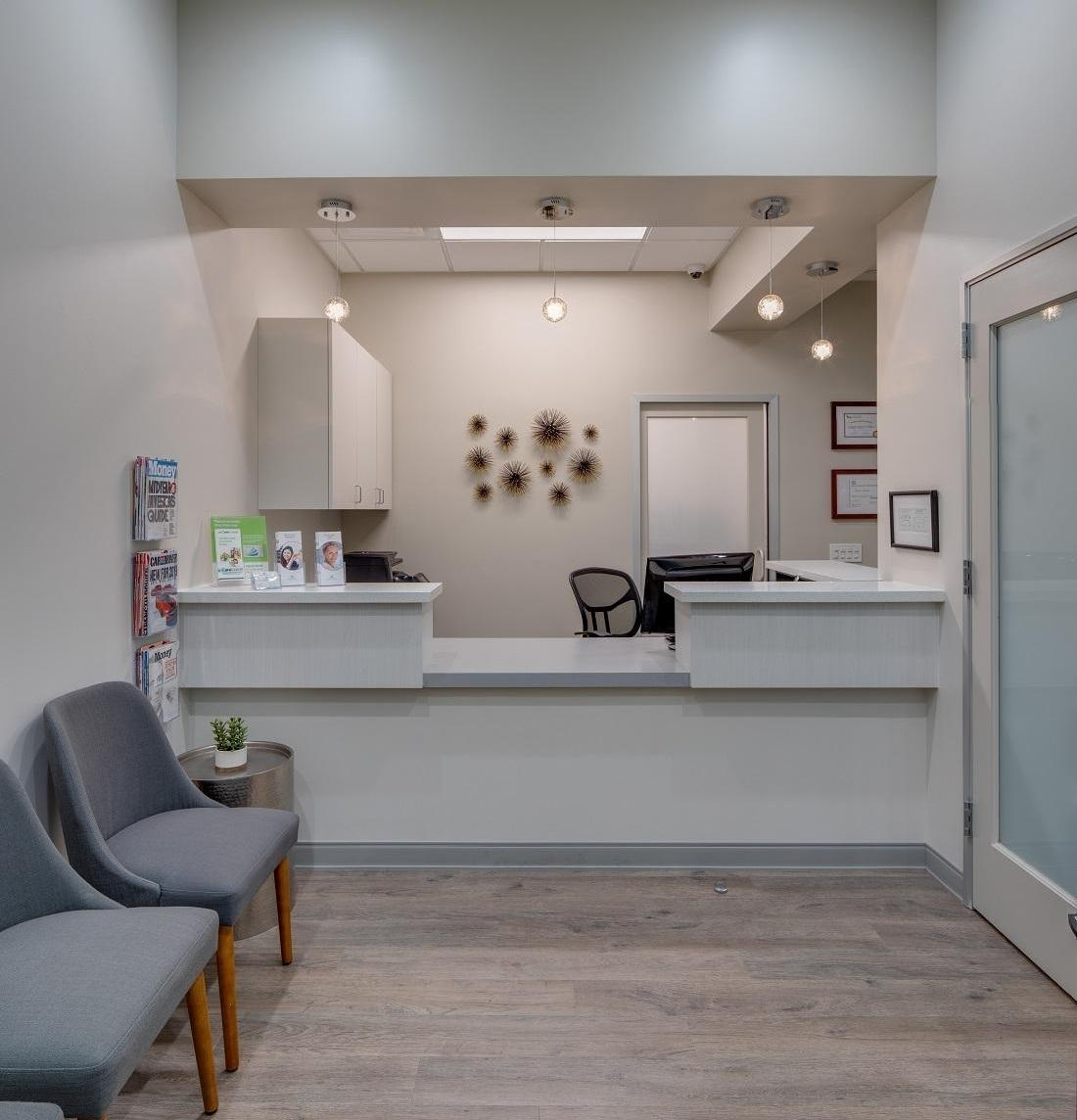 Lake-Forest-Oral-Surgery-Reception-Area